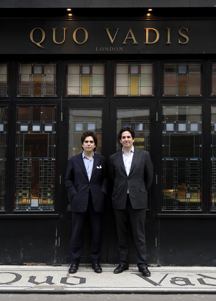 Eddie and Sam Hart, Quo Vadis, Soho