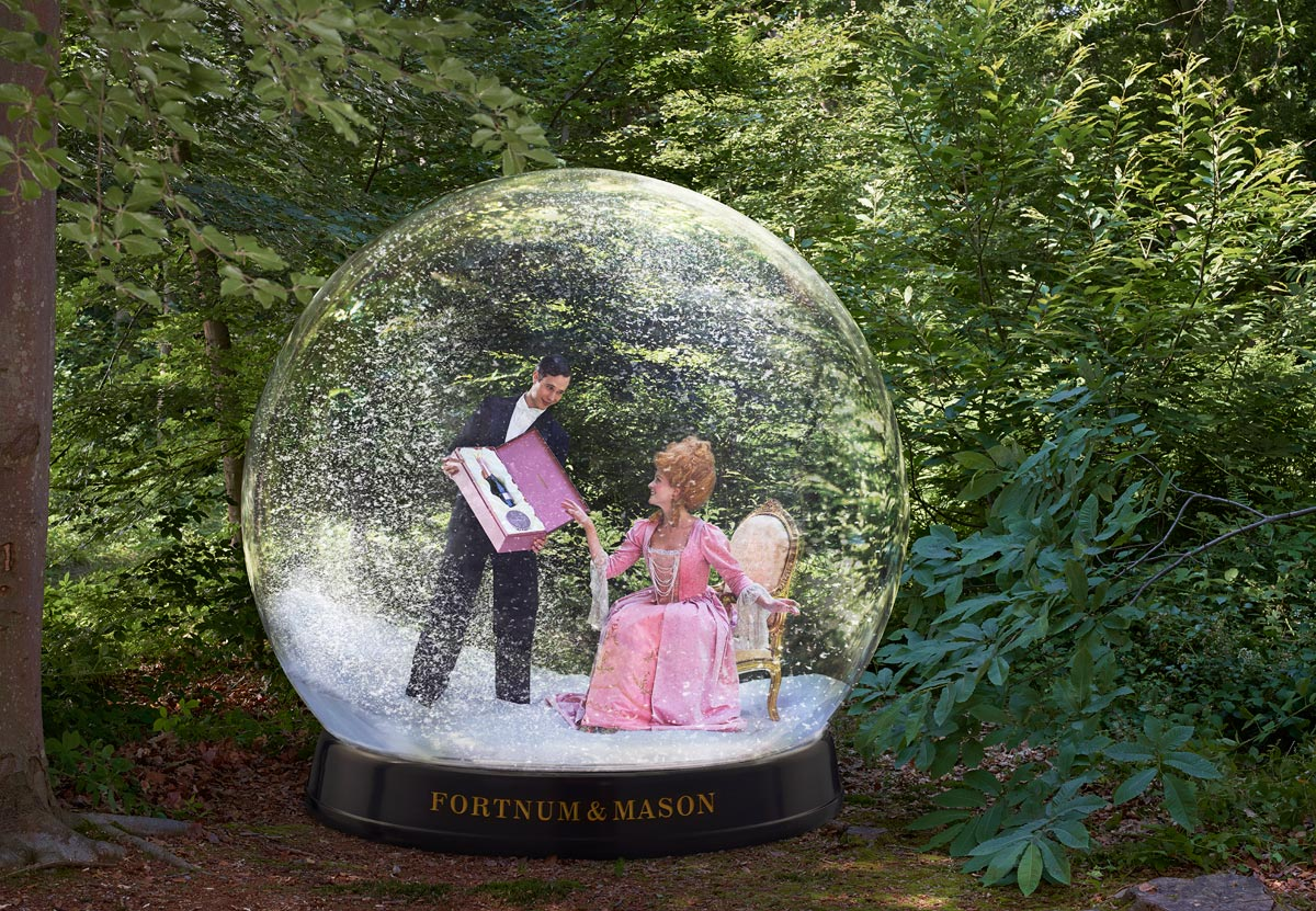 Snow Globe for Fortnum & Mason