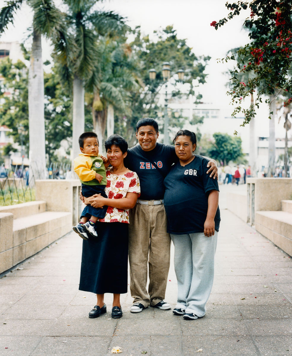 Juan Carlos and his family, Guatemala City